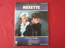 Roxette - Best of . Songbook Notenbuch Piano Vocal Guitar PVG
