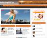 Healthy Living with Yoga PLR Niche Blog Wordpress Ready Made Website