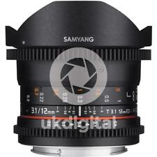 Samyang 12mm T3.1 VDSLR ED AS NCS Fisheye Lens CANON