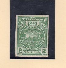 Costa Rica Valor Fiscal del año 1934 (CH-323)