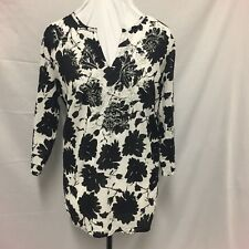 Millers  Black & Floral Top. Size 16. As New. Beautiful Details