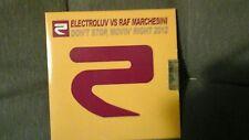 ELECTROLUV VS RAF MARCHESINI - DON'T STOP MOVIN RIGHT 2012. CD SINGOLO 7 TRACKS