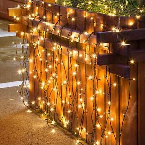 22M LED Solar Fairy String Lights Waterproof Garden Party Outdoor Decoration