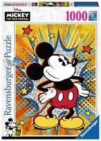 PUZZLE DISNEY MICKEY MOUSE RETRO 1000 PIEZAS Ravensburger 15391 Retro Mickey
