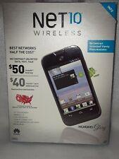 Net10 Huawei Glory H868C 2GB Black Smartphone NIB