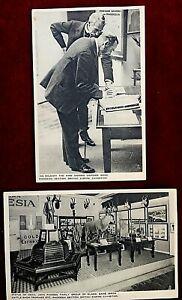 BRITISH EMPIRE EXHIBITION 1924 WEMBLEY - RHODESIA SECTION - VINTAGE POSTCARDS x2