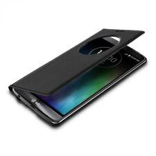 Flip Cover mit Fenster und Kunstlederbezug für LG G3 S, schwarz