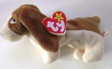 TY Beanie Babies-Tracker il Basset Hound con errori