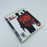 The Godfather 2 II - (Sony PlayStation 3, 2009) Complete Tested