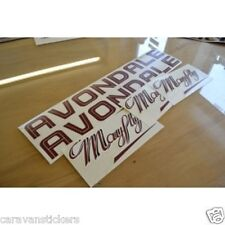 AVONDALE Mayfly Caravan Stickers Decals Graphics - SET OF
