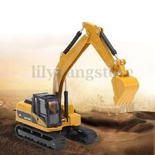 1/64 Scale Diecast Alloy Turning Construction Vehicles Excavator Model Toy Gift