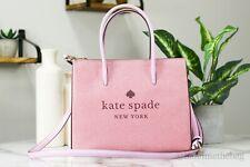Kate Spade Trista Glitter Pink Bling SHOPPER 2 Way Tote Bag - WKR00184