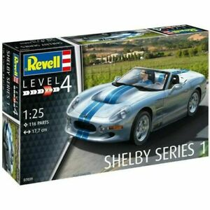 Revell 1/25 Shelby Series 1 Kit (New)