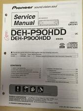 Pioneer Service Manual for the DEH-P90HDD Car Radio Stereo    mp