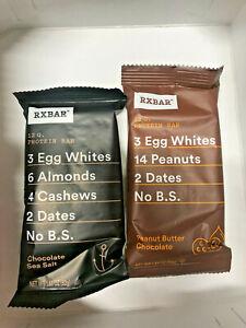 RXBAR RX Bar Whole Food Protein Nutrition Energy Bar Snack - CHOOSE FLAVOR & QTY