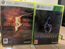 Resident Evil 5 & 6 pour Xbox 360