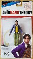 Big Bang Theory Series 1 Raj Action Figure. Bif Bang Pow!