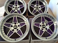"FYK ED3 16"" 8j 9j Alloy Wheels 5x100 EURO DRIFT VW GOLF MK3 Mk4 Toyota"