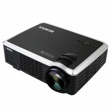 3000 Lumens Full HD Video Projector LCD LED Multimedia Home Theater Portable T7