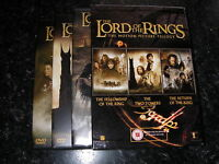 The Lord of the Rings 6 disc DVD box set