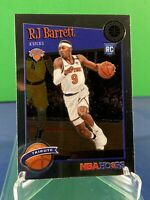 2019-20 NBA Hoops Premium Stock RJ BARRETT Base Tribute RC Rookie Card #298