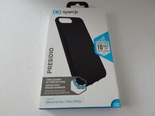 "Speck Products Presidio Case for iPhone 8/7/6/6s Plus 5.5"" Black New"