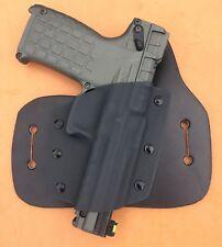 Leather Kydex Hybrid OWB holster for Kel-Tec PMR-30