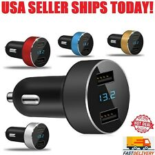 Dual USB 3.1A Car Charger Adapter 3.0 Fast Charging For iPhone Samsung HTC LG