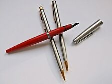 Vintage Parker Pen Lot Ballpoint Pencil and Felt Tip working condition.