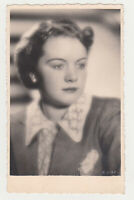 1920s Pretty Young Woman Lady Cute Face Girl Female Old Photo