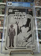 CGC 9.8 Star Wars  Poe Dameron #1 ~ Action Figure Sketch Variant ~ JTC Exclusive
