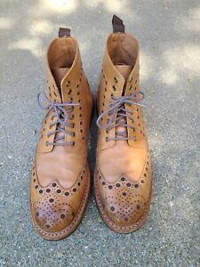 Men's Brogue Boots - 12