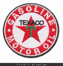 TEXACO Aufnäher Patch Bügelbild Motor Oil Gasoline Vintage Racing Team USA