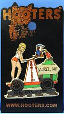 HOOTERS RESTAURANT GIRL LAUREL MD MARYLAND RAILROAD TRAIN CART GRAND OPENING PIN