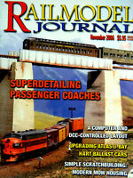 Railmodel Journal November 2006 Hart Ballast Cars, Superdetailing Pass. Coaches