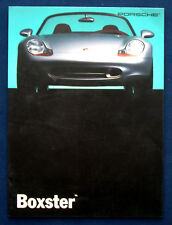 PROSPEKT BROCHURE 1993 PORSCHE BOXSTER studio * Concept * Prototype (CDN, 1992)