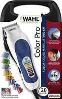 New Wahl Professional Hair Cut Trimmer Barber Cutting Kit Electric Clipper 20 PC