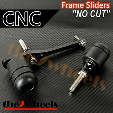 CNC Frame Sliders (No Fairing Cut) for Yamaha YZF R6 2008-2016