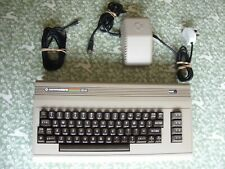 """Commodore 64 """"Breadbin"""" + PSU, RF Cable. Re-capped and heatsinks added."""