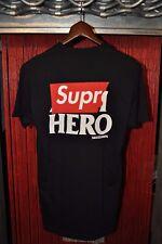 Supreme Anti Hero Logo Pocket Super Hero T Shirt - Black M Medium