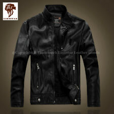 Lionstar Iconic Top Quality Men Real Leather Winter Biker Style Fashion Jacket