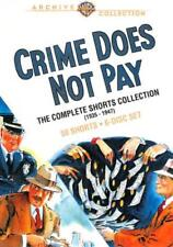 CRIME DOES NOT PAY: THE COMPLETE SHORTS COLLECTION (1935-1947) NEW DVD