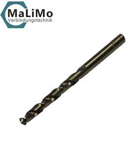 MaLiMo HSS-E Din 338 Edelstahlbohrer Co 5% Spiralbohrer Bohrer NEU alle Größen