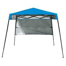 Quik Shade Pop-Up Tent 6 ft. x 6 ft Blue Lightweight Collapsible Water Resistant