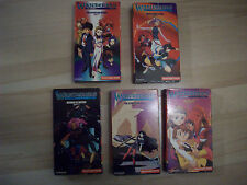 The Wanderers El Hazard TV Series VHS 1997 Lot 5 Quest 1 2 3 4 6 Japanese Anime