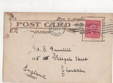 Mr S Ravenhill Westgate Street Gloucester 1908 708a