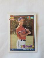 1991 Topps Chipper Jones #1 Draft Pick RC #333 Atlanta Braves HOF