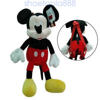 New Mickey Mouse Plush Backpack! Doll Bag Stuffed Toy Figure Licensed Disney16""