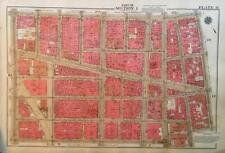 1934 LOWER EAST SIDE CHINATOWN MANHATTAN BRIDGE NY ATLAS MAP