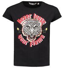 18/19 - Camiseta, negro Tigre s82402 Regular Ajuste V. García T. gr.140- 176